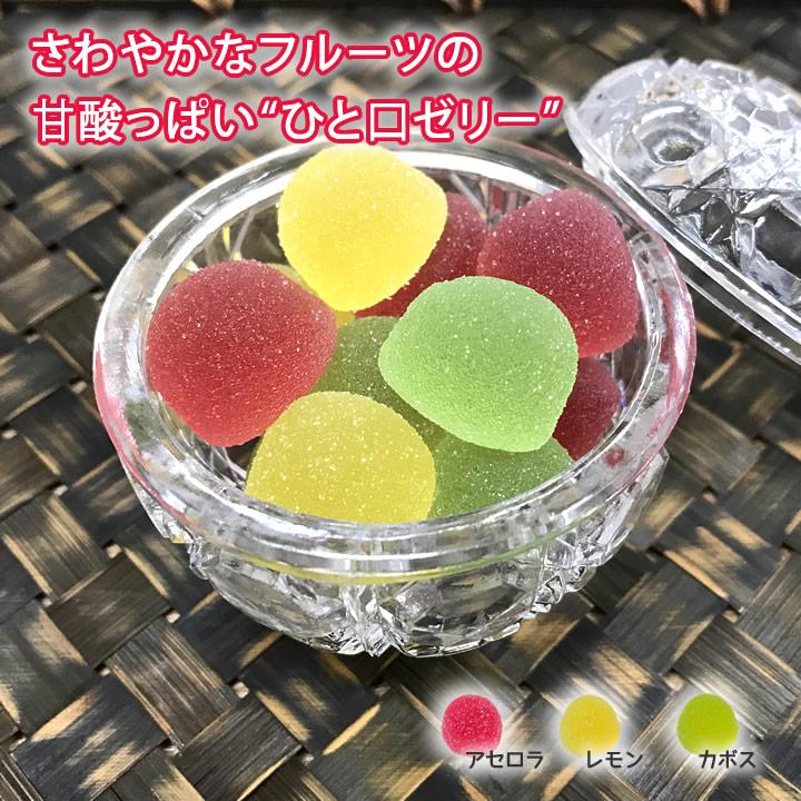 フルーツゼリー 3種