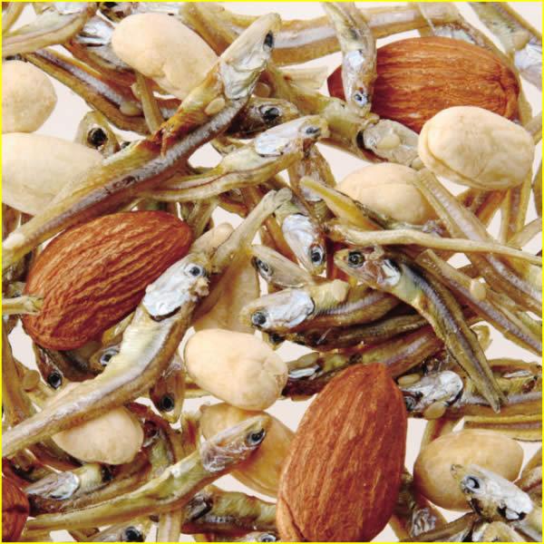アーモンド 小魚 ピーナッツ