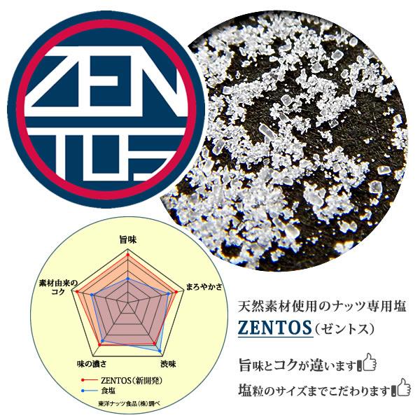ZENTOS ナッツ専用塩
